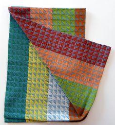 Handwoven towel by Madeline Shinbach