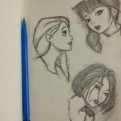 #Sketches #asiangirl #manga  #drawing