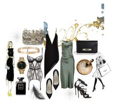 """""""Untitled #99"""" by cecilieholm ❤ liked on Polyvore featuring Yoco Nagamiya, Proenza Schouler, Alexander Wang, Anthony Vaccarello, Valentino, Dsquared2, Dyrberg/Kern, Agent Provocateur, Christian Louboutin and Cartier"""