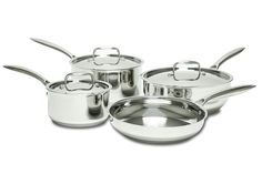 Hot Dots Cookware  Stainless Steel Induction Ready 7-Piece Cookware Set, PFOA Free -- Check this awesome image  : Cookware Sets
