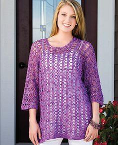 Ravelry: Savannah Shore Tunic pattern by Jill Hanratty