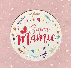 carte Super Mamie : AU FIL DES SONGES