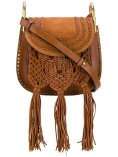 Chloé small braided Hudson bag