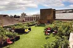 New views of the city - Roof Gardens in London #betterymagazine #london
