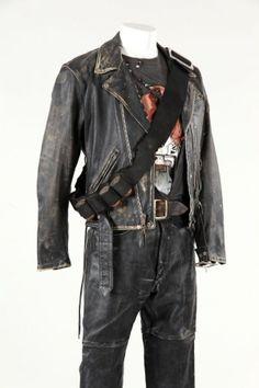 Arnold Schwarzenegger T-800 costume from Terminator 2 : Lot 979