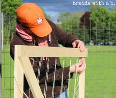 easy handmade trellises for climbing vegetables or flowers. @breida with a b..com