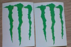 Monster Energy Drink Logo Vinyl Decal/ Sticker, Claw Mark Decal, Window Decal, Stickers for Cars, US Window Decals, Vinyl Decals, Monster Energy Drink Logo, Car Stickers, Energy Drinks, Cars Usa, Unique Jewelry, Handmade Gifts, Flowers