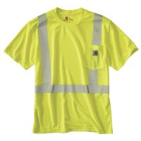 petite Carhartt Personal Protective Regular XXXX Large Brite Lime Polyester Short-Sleeve T-Shirt, Men's Safety Clothing, Work Shirts, Carhartt, Work Wear, Casual Shirts, Unisex, Shorts, Lime, Medium