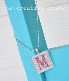 The CrEaTiVe CraTe: {SiMpLe} Necklace Idea!