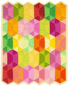 "12"" X 13.5"" quilt - Jaybird Mini Disco Designer Pattern: pattern for sale from Robert Kaufman Fabric Company"