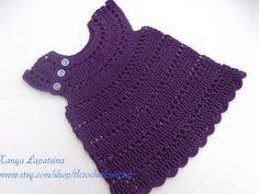 Crochet Purple Halter Top.. $30.00, via Etsy.