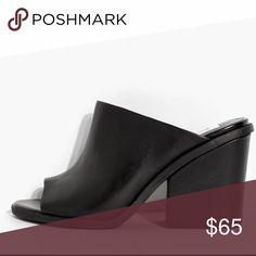 Dolce Vita mule Stacked block heel peep toe mule Dolce Vita Shoes Mules & Clogs