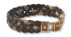 mourning jewellery - bracelet in gold and three colours of braided hair