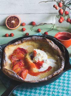 Dutch Baby Pfannkuchen   will ich schon seit Ewigkeiten mal ausprobieren... #Frühstück #Pfannkuchen #Pancakes