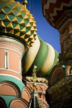 Close up on Cathedral Domes, Russia | Picfari.com Oh The Places You'll Go, Places To Travel, St Basil's, Christian World, Russian Architecture, Place Of Worship, Eastern Europe, Amazing Photography, Travel Photos