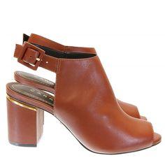 Sandália Avelã 31012 Carrano por Moselle   Moselle sapatos finos femininos! Moselle sua boutique online.