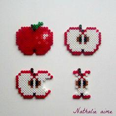 Nathalie M: SC & more # 296 - petite pomme en perles à repasse...