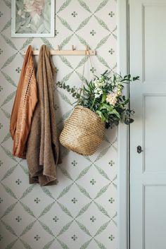 Buy Galerie Blomstermala Flowers Leafy Trellis Wallpaper Green 51024 from the extensive range of Galerie at Decor Supplies. Free UK Mainland Delivery on orders over Decor, Cottage, Interior, Natural Interior, House Styles, Decor Inspiration, House Interior, Trellis Wallpaper, Rustic House