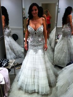 I am in love with this pnina dress. It would be even more perfect if it was strapless.