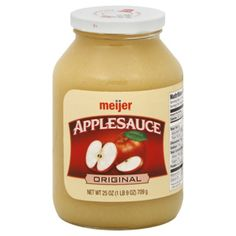 I'm learning all about Meijer Applesauce Original at @Influenster!