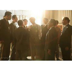 異議あり。 伊能が会社を辞するシーンは、高橋さんと監督が何度も話し合い、撮影されました。 #わろてんか #nhk #朝ドラ #高橋一生