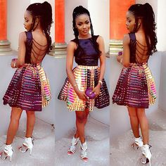 Latest Ankara Short Dresses Styles For Teenagers