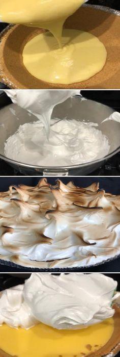 No sabia preparar el mejor PIE de LIMÓN del mundo! #piedelimon #lemonpie #receta #recipe #chef #food #foodie #foodporn #dessert #dessertporn #sweet #dulce #delicious #yummy #homemade #comohacer #lomejor #masa #bread #breadrecipe #pan #panfrances #panettone #panes #pantone #pan #casero #torta #tartas #pastel #nestlecocina #bizcocho #bizcochuelo #tasty #cocina #chocolate Si te gusta dinos HOLA y dale a Me Gusta MIREN… Hallumi Recipes, Hotdish Recipes, Steak Recipes, Italian Recipes, Appetizer Recipes, Baking Recipes, Lasagna Recipes, Spinach Recipes, Sandwich Recipes
