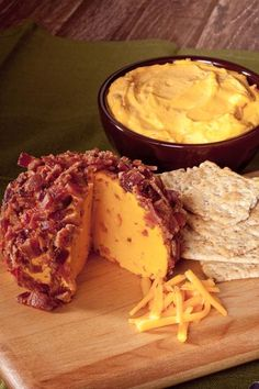 The ultimate flavor marriage of cheddar cheese and smokey bacon! Enjoy as a veggie dip or a cheeseball! Also great mixed with 1-2 lbs. of ground beef for tasty