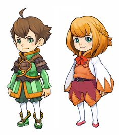 Final Fantasy Crystal Chronicles: The Ring of Fates Yuri and Chelinka Final Fantasy Artwork, Final Fantasy Characters, Sci Fi Characters, Character Creation, Character Art, Kawaii, Animation, Happy Art, Character Design References