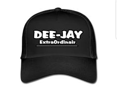 €17,99 order NOW!DeeJay ExtraOrdinair fully black Trucker Cap. Match it with aDeeJay ExtraOrdinair hoody or T-shirt.