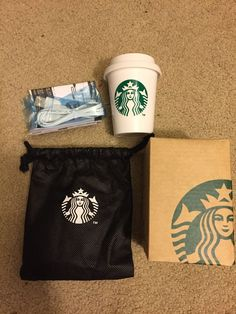 AUTHENTIC Starbucks Battery Power Bank Charger For Cell iPhone Android Tablet #starbucks