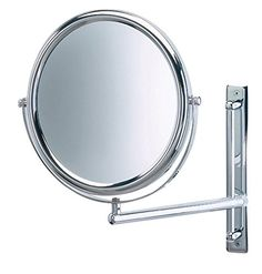 Jerdon JP3030CF 9-Inch Wall Mount Makeup Mirror with 3x Magnification, Chrome Finish. For product & price info go to:  https://beautyworld.today/products/jerdon-jp3030cf-9-inch-wall-mount-makeup-mirror-with-3x-magnification-chrome-finish/