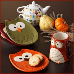 Owl Decor  Accessories - OMG I WANT THESE!!!!!!!!!!!!!!!!!!