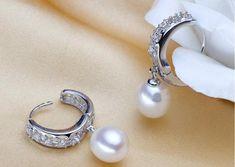 Real Freshwater Pearl Earrings