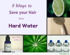 8 ways to save your hair from hard water. We moved to a serious hard water area and my hair has never looked as bad as it does now. Hope these work!!