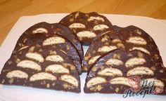 Nepečený srnčí hřbet s piškoty a oříšky No Bake Cheesecake, Venison, Sweet Recipes, French Toast, Almond, Muffin, Sweets, Cookies, Baking