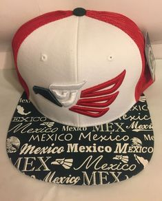 466e445fd8b NEW-Echo En Mexico Trucker Hat Mesh Cap Snapback Adjustable Hat  Red White Green  fashion  clothing  shoes  accessories  mensaccessories   hats (ebay link)