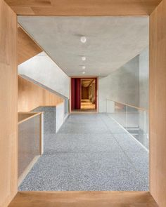 Education Center with terrazzo floors #terrazzo