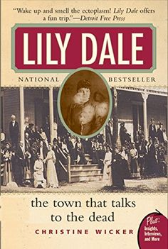 Lily Dale: The Town That Talks to the Dead (Plus) by Christine Wicker http://www.amazon.com/dp/0061153745/ref=cm_sw_r_pi_dp_0YRnwb1E4FGR9