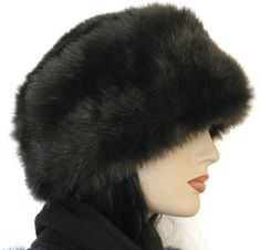 Russian faux fur hat, so warm, so sweet, made in Canada winter hat, in time for Sochi Olympics, furry winter hat
