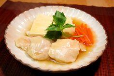■鶏肉レシピ■ ささみと豆腐のふわとろ煮