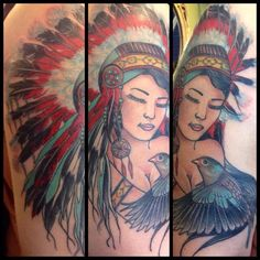 Lee stain's work of inktricate tattoo