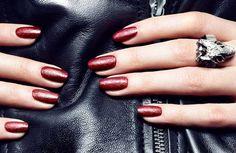 Add To Cart: Punk rock leather nail polish. #nailsinc www.ddgdaily.com
