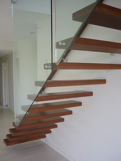 Cantilevered stairs gallery