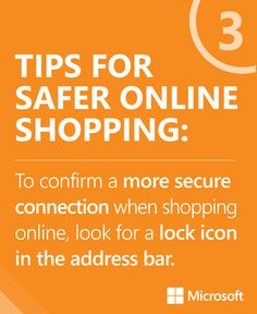 #Shopping for that new #fall wardrobe? Check out these tips on helping stay more secure online! http://msft.it/SO924 #fashion