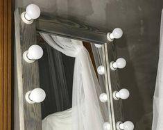 Showroom mirrorvanity mirror with lightsMakeup Hollywood Mirror With Lights, Hollywood Vanity Mirror, Mirror Buffet, My Mirror, Mirrors For Makeup, Makeup Mirror With Lights, Living Room Decor, Bedroom Decor, Bedroom Ideas