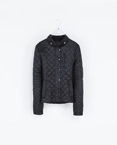 ZARA - WOMAN - CONTRASTING QUILTED JACKET
