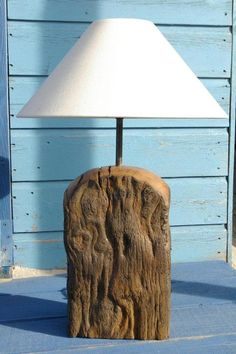 Driftwood Lamp No. 4 by Azurea