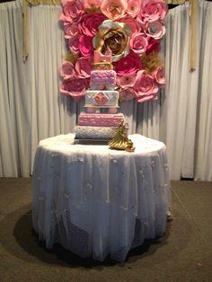 Victoria Anabella's BabyShower cake