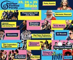 LINE-UP - Bourbon Festival Paraty 2014 Confira a programação completa em www.bourbonfestivalparaty.com.br  #PousadaDoCareca #Paraty #Bourbon #BourbonFestival #festival #música #jazz #blues #soul #cultura #turismo #HermetoPascoal #BourbonFestivalParaty #PattiAustin #TiagoAbravanel